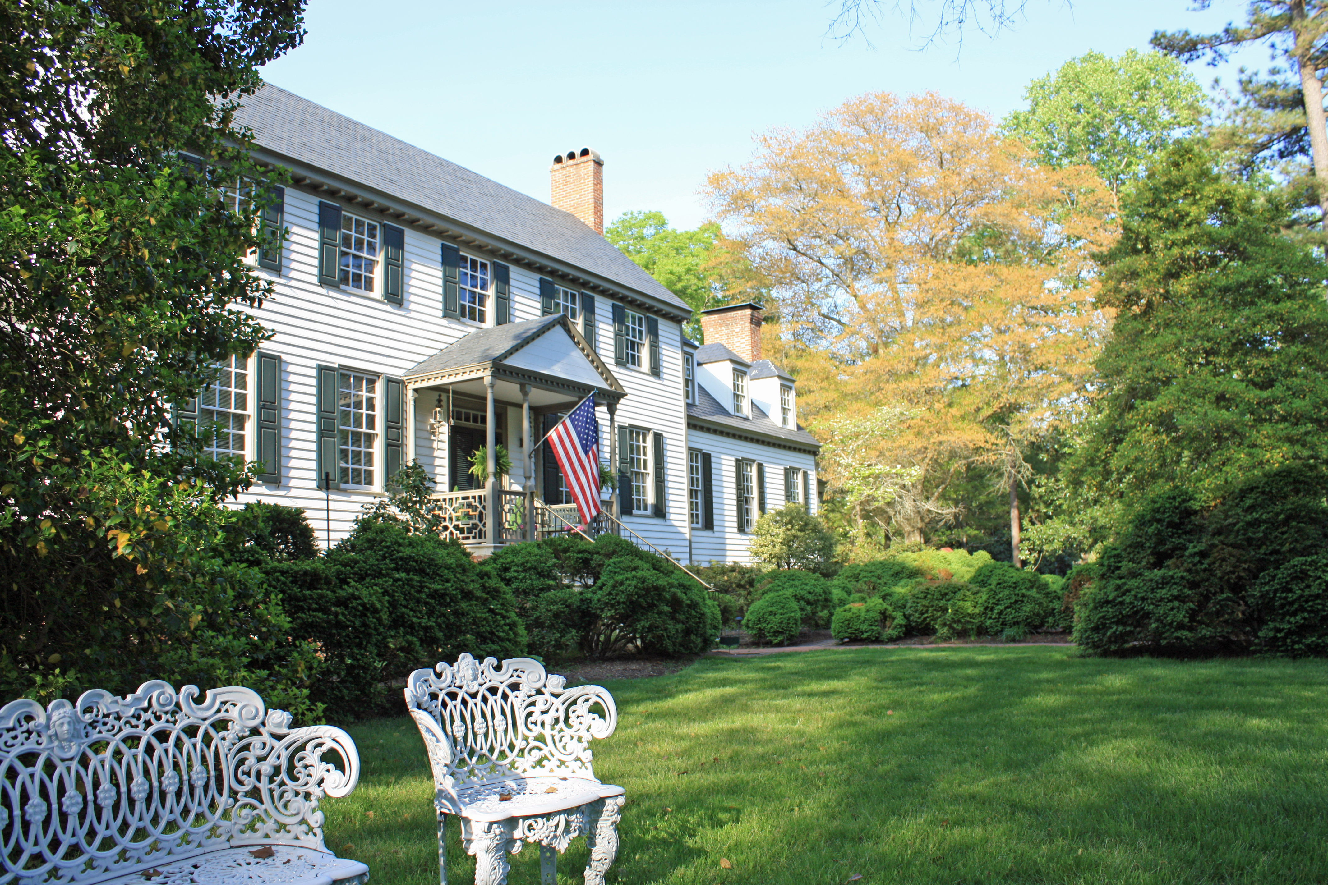 Front of Lisburne from Left Lawn gorgeous late day | Karin Andrews ...